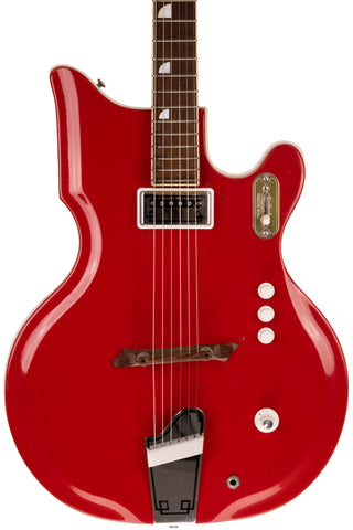 1962 National Val Pro, Fiberglass Body Scarlet Finish