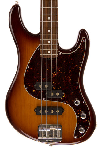 Ernie Ball Music Man Caprice Bass, Tobacco Burst