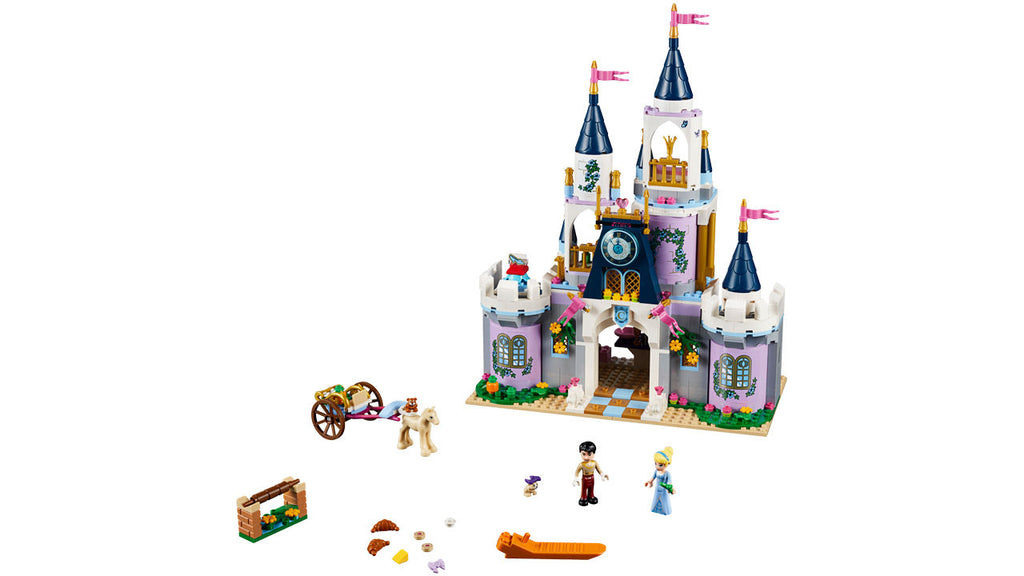 2018 LEGO Disney set 41154 Cinderella's dream castle