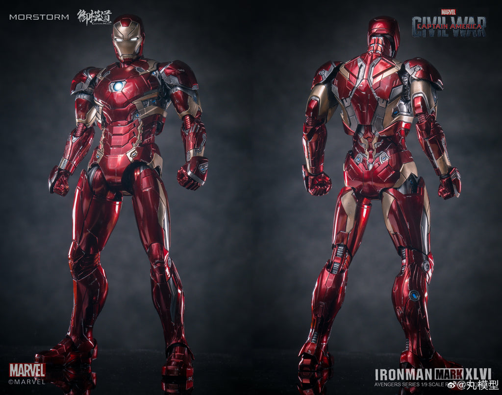 E-Model 1/9 Ironman MK-46 Suit [Captain America Civil War]