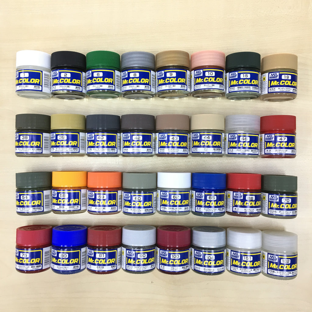 Mr Hobby Mr Color Paints