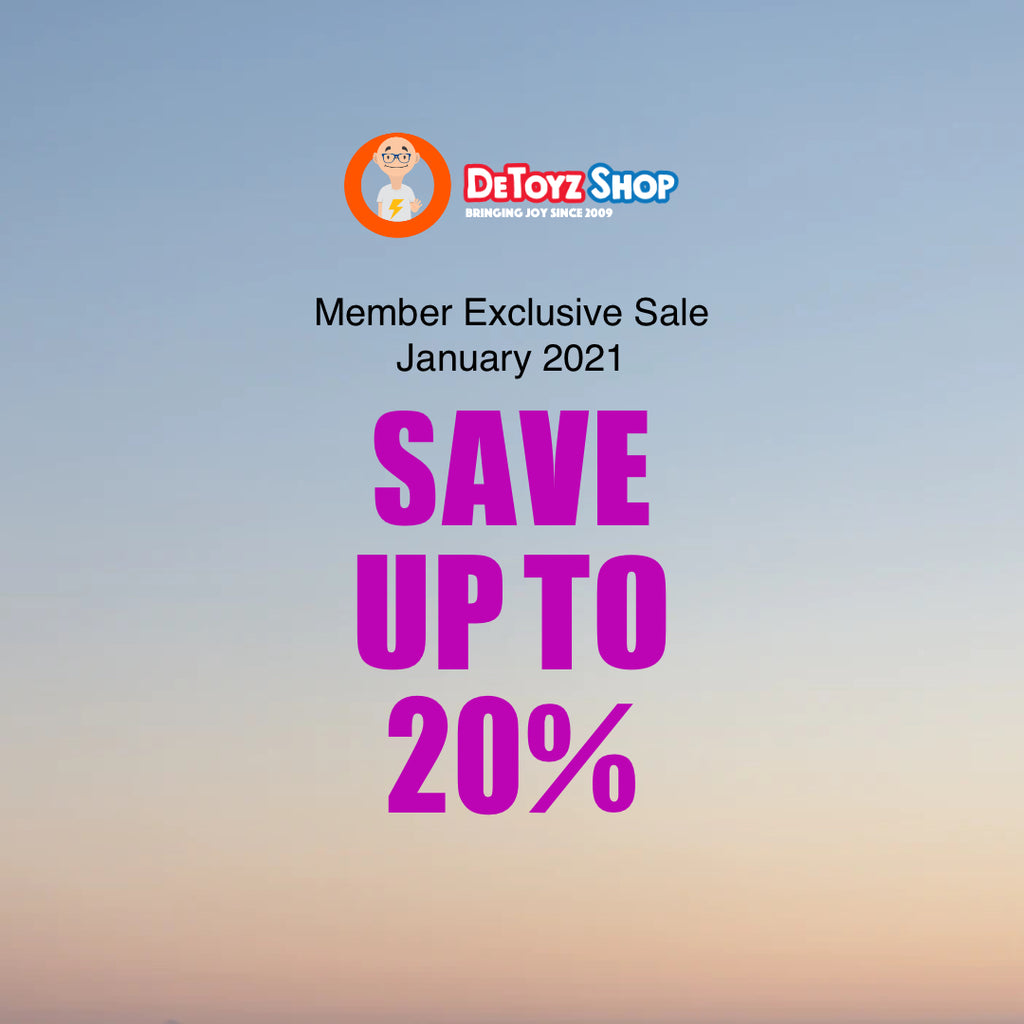 DeToyz Member Exclusive Sale