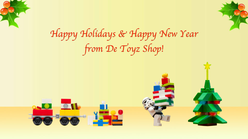 Happy Holidays from DeToyz!