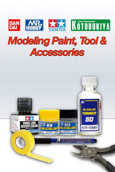 Model Paint, Tool and Accessories