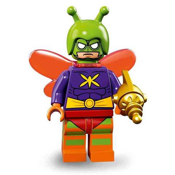 Small-time crook Drury Walker, aka Killer Moth, was eager to be taken seriously as a super villain so he made himself into the opposite of a brave bat: a scary moth.