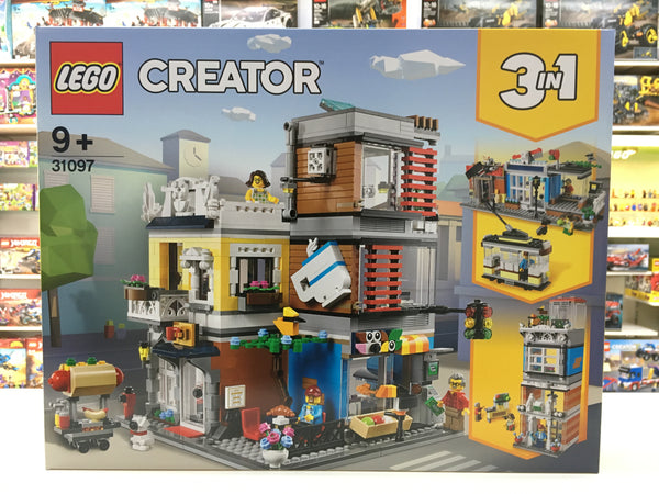 LEGO 31097 Townhouse Pet Shop & Cafe