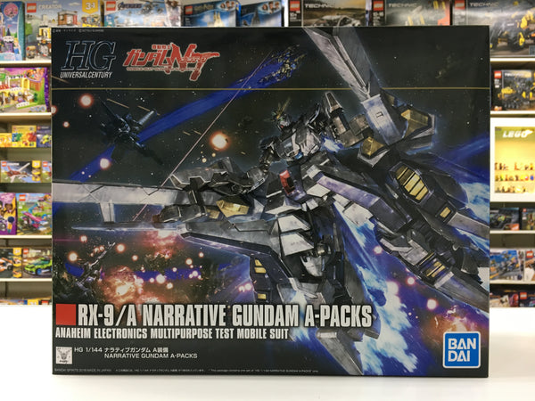 HGUC RX-9/A Narrative Gundam A-Packs