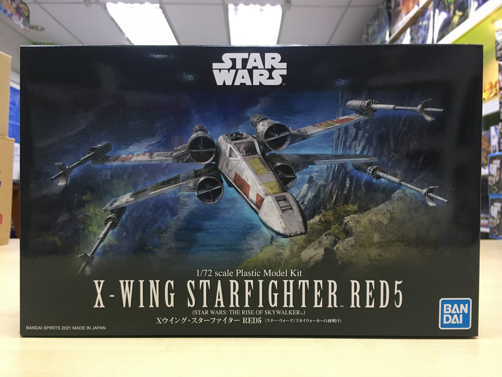 1/72 X-Wing Starfighter Red5 (SW:The Rise Of Skywalker)