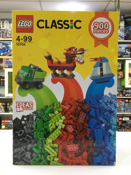 LEGO 10704 Creative Box - Unleash a world of open-ended creativity and imagination with the LEGO® Classic Creative Box. Imaginative building play is easy with these bright, colorful and versatile LEGO bricks in 39 colors.
