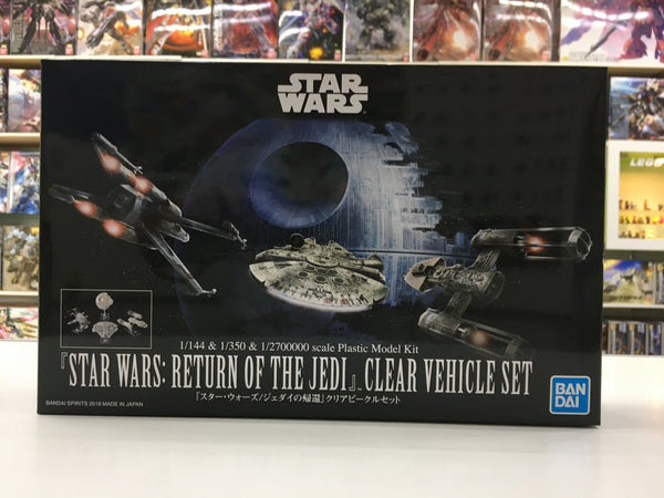 Star wars Clear Vehicle set