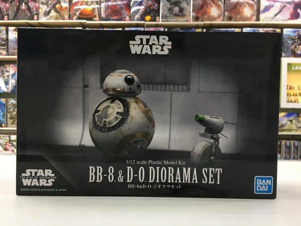 BB-8 & D-O Diorama set