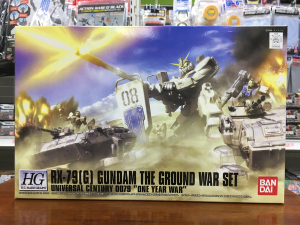 HGUC RX-79[G] Gundam The Ground War Set