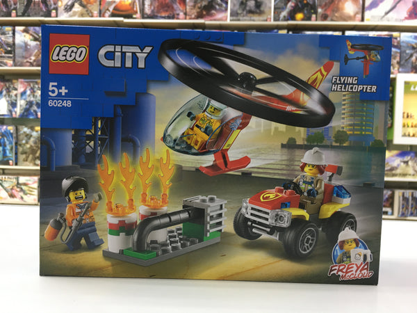 LEGO 60248 Fire Helicopter Response