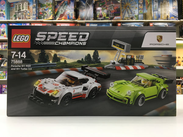 LEGO 75888 Porsche 911 RSR and 911 Turbo 3.0
