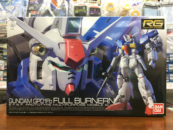 RG Gundam GP-01Fb Full Burnern
