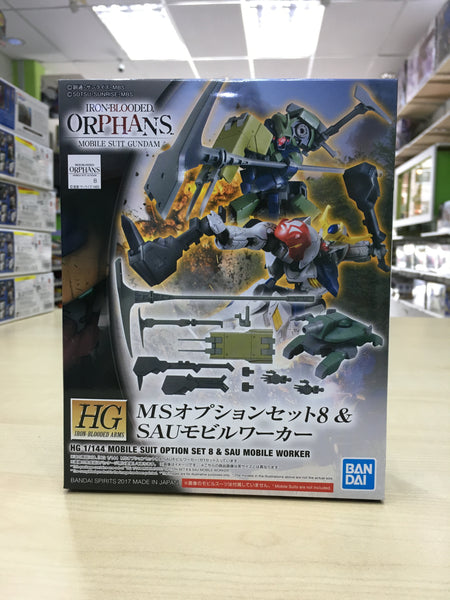 HG Mobile Suit Option Set 8 & Sau Mobile Worker