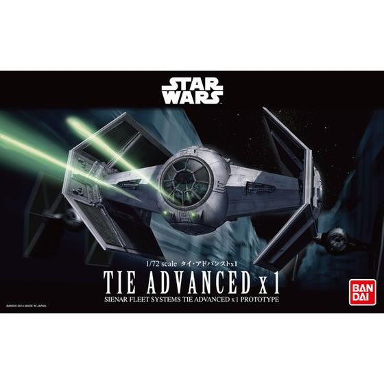 Bandai Star Wars Kit 1/72 TIE Advanced x1