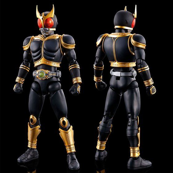 Figure-rise Standard Masked Rider Kuuga Amazing Mighty & Rising Mighty Pars Set (PBandai)
