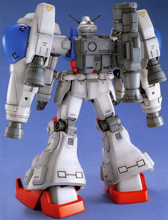 MG RX-78 GP02A Gundam GP02 PHYSALIS