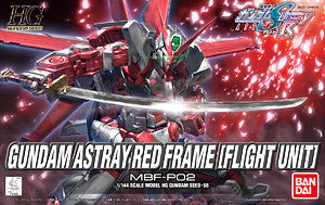 HG Gundam Astray Red Frame (Flight Unit)