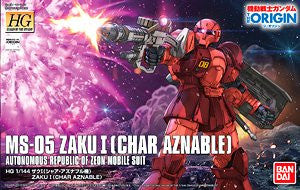 HG Zaku I (Char Aznable's) (The Origin)