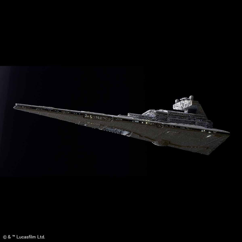 Bandai Star Wars Model kit - 1/5000 Star Destroyer [Lighting Model] First Production Limited.
