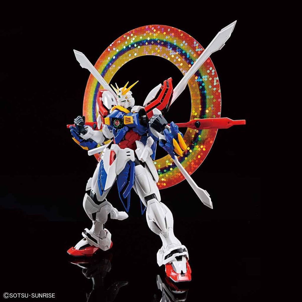 High-Resolution Model God Gundam (HiRM)