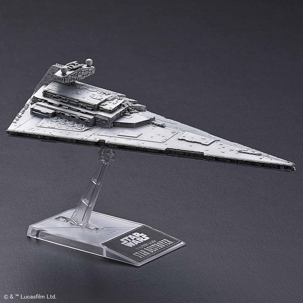Bandai Star Wars Vehicle Model series - 1/100000 Super Star Destroyer & 1/14500 Star Destroyer