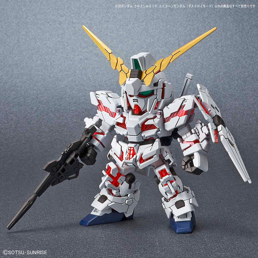 SD Gundam Cross Silhouette Unicorn Gundam (Destroy Mode)