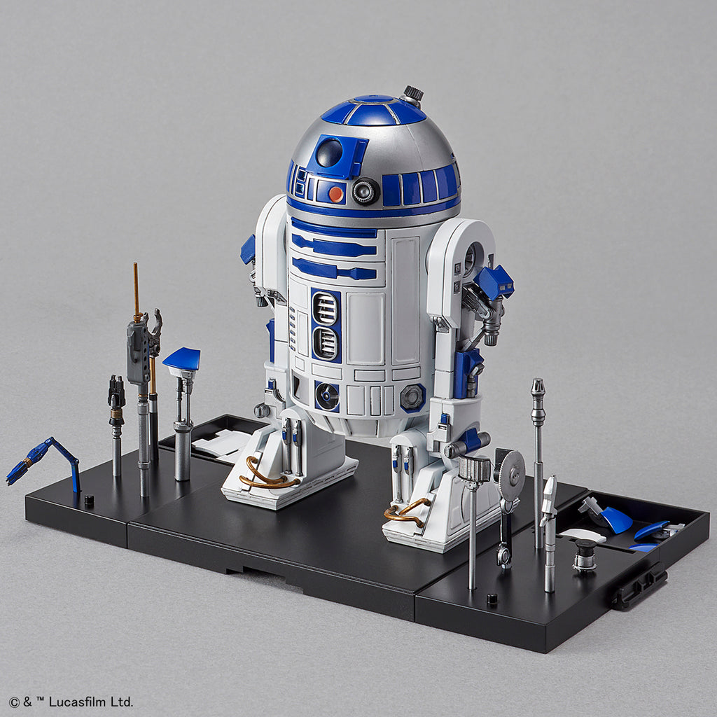 Bandai Star Wars Model Kit - 1/12 R2-D2 (Rocket Booster Ver)