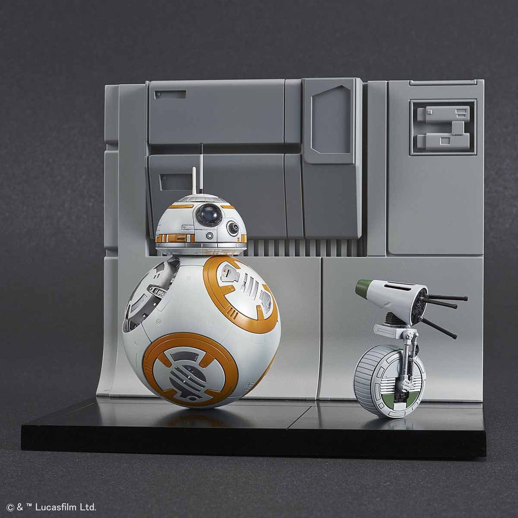 1/12 BB-8 & D-O Diorama Set