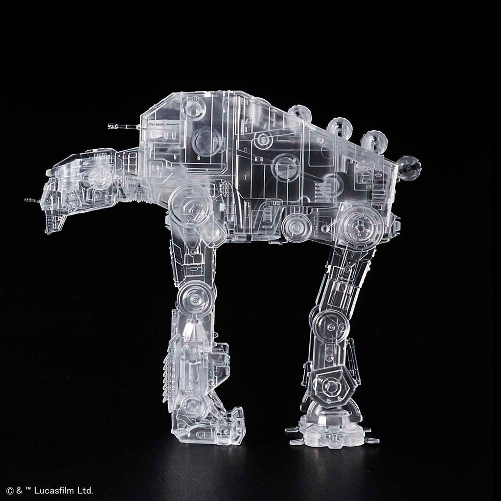 "1/144 & 1/350 & 1/540 ""Star Wars: The Last Jedi"" Clear Vehicle Set"