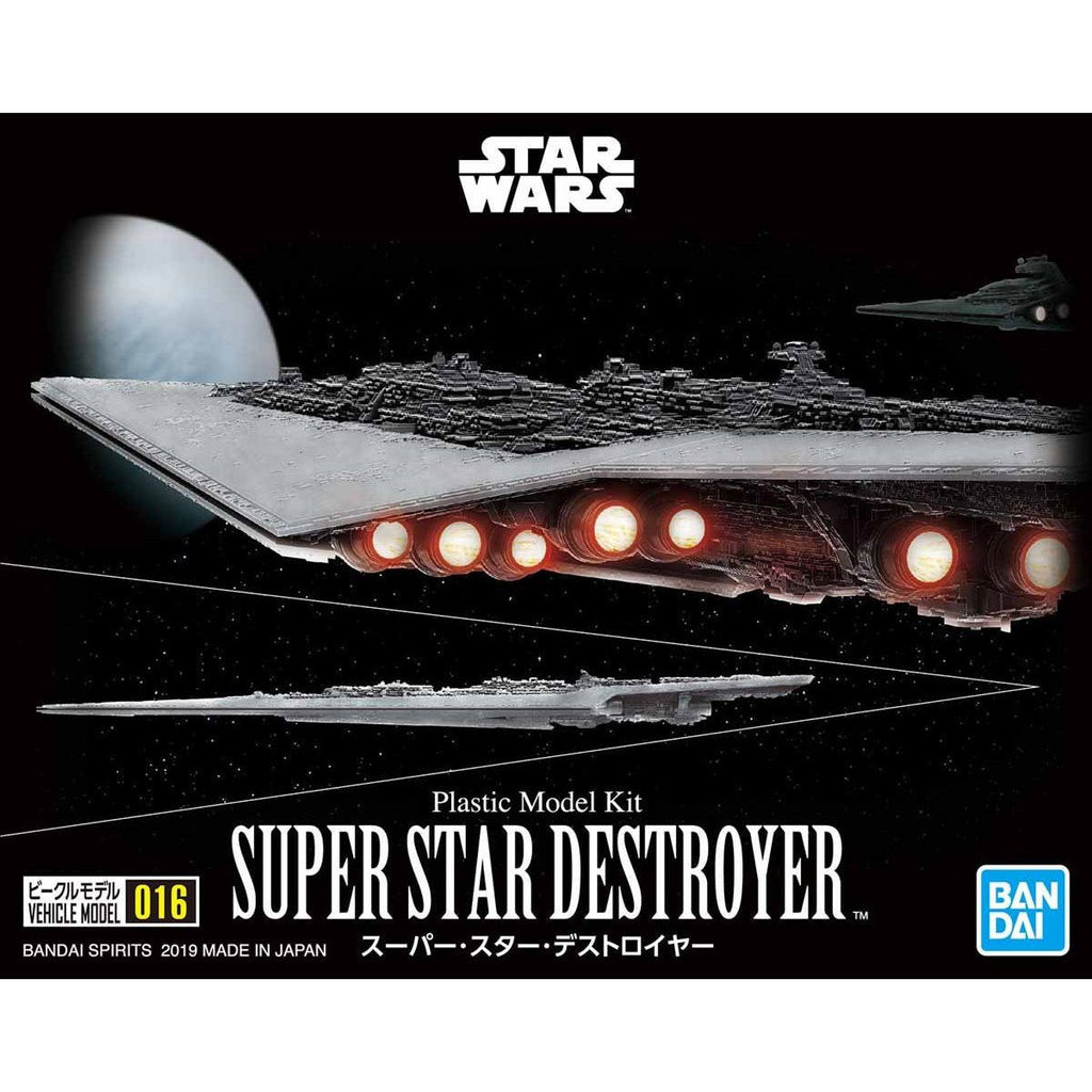 Bandai Star Wars Vehicle Model series - 016 Super Star Destroyer