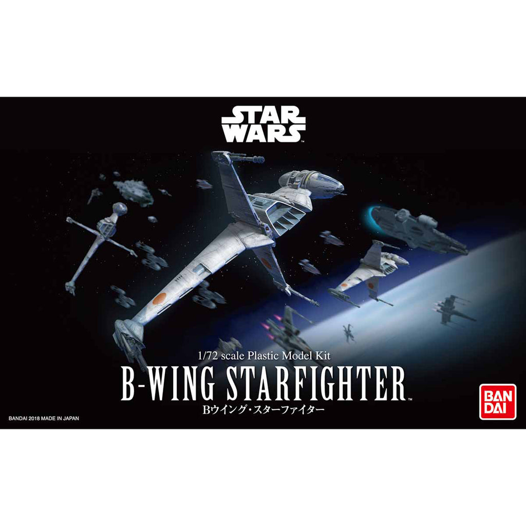 Bandai Star Wars Model Kit - 1/72 B Wing Starfighter