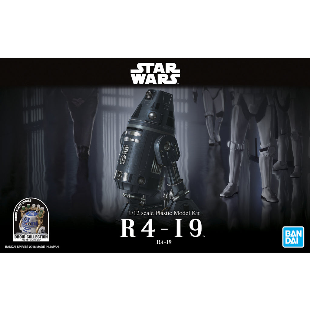 Bandai Star Wars Model Kit - 1/12 R4-I9