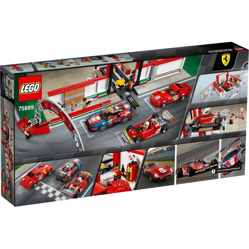 LEGO 75889 Ferrari Ultimate Garage