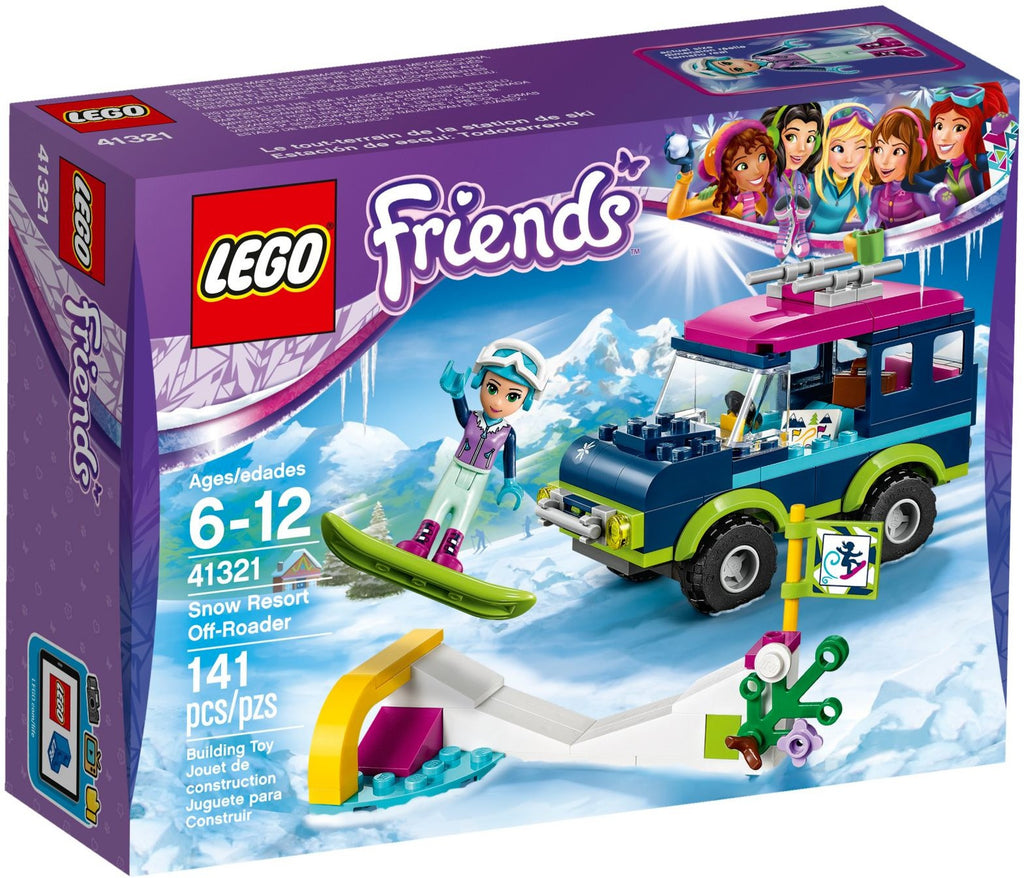 LEGO 41321 Snow Resort Off-Roader