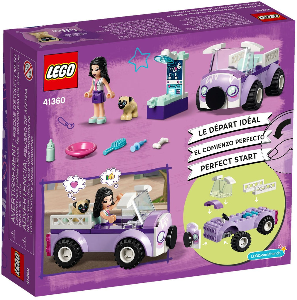 LEGO 41360 Emma's Mobile Veterinary Clinic