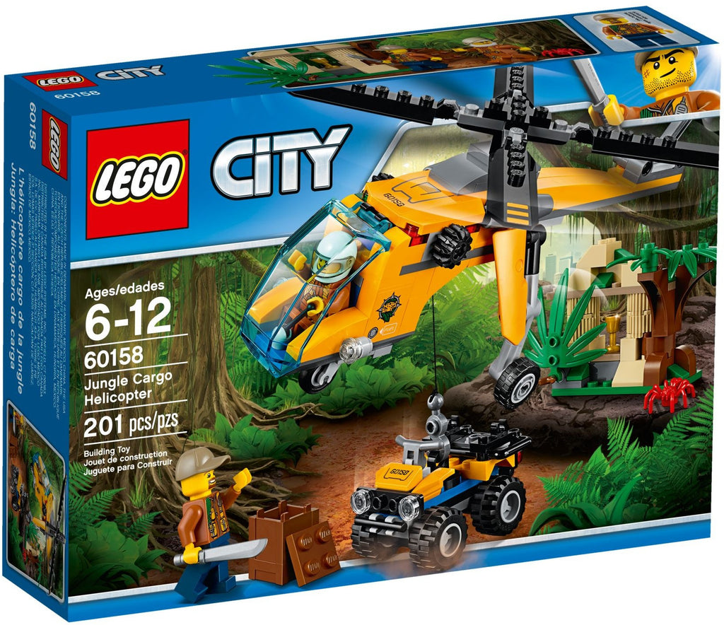 LEGO 60158 Jungle Cargo Helicopter