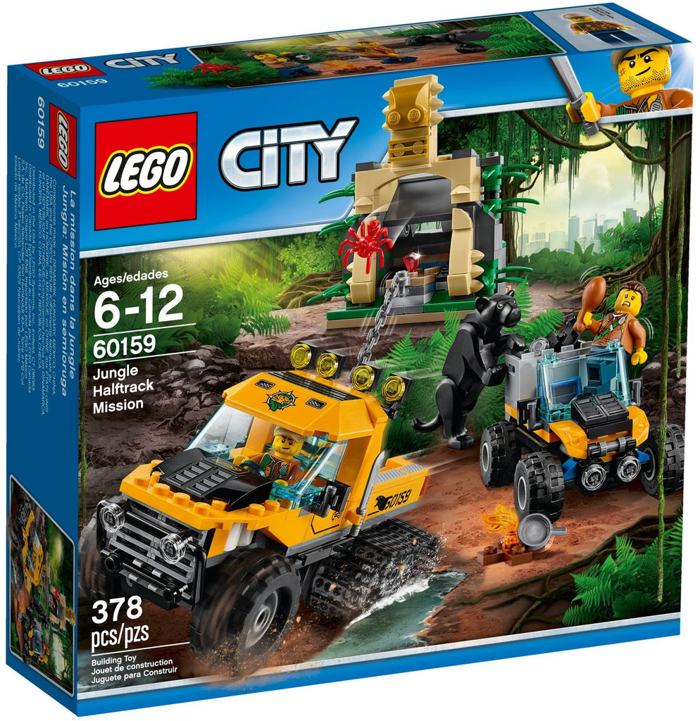 LEGO 60159 Jungle Halftrack Mission