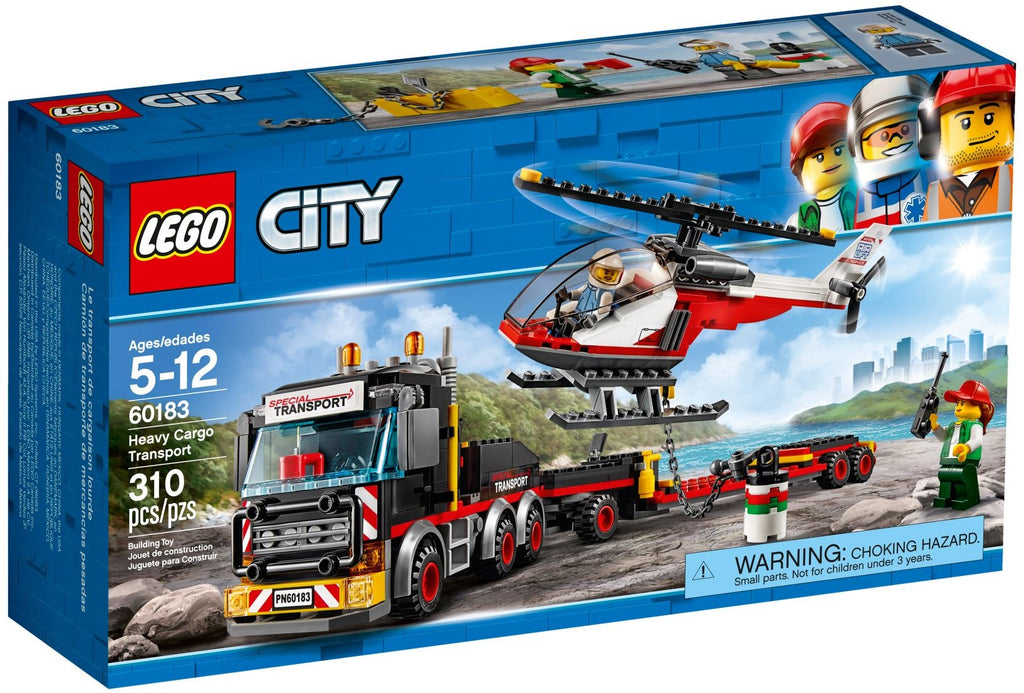 LEGO 60183 Heavy Cargo Transport