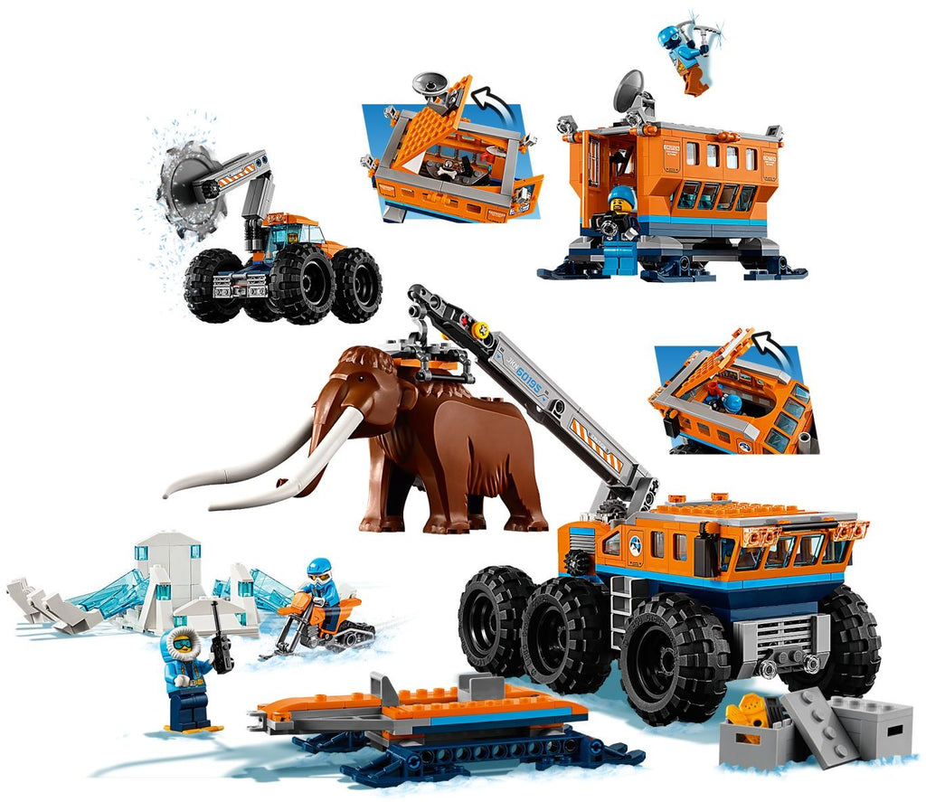 60195 Arctic Mobile Exploration Base