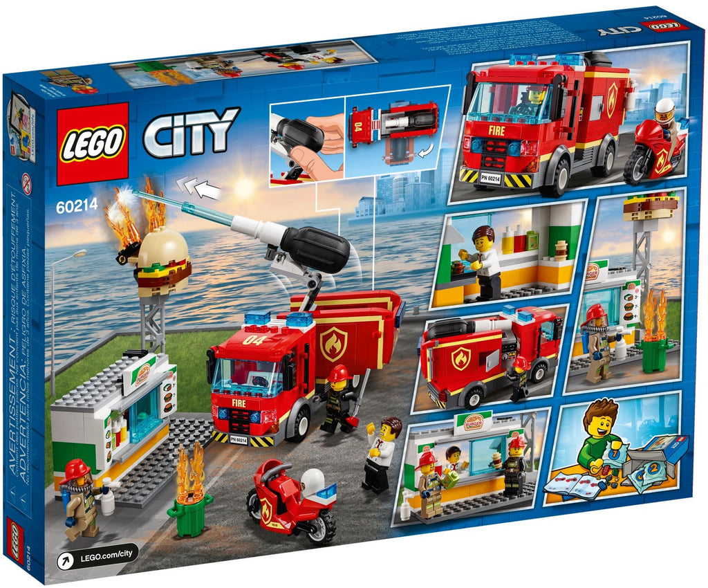 LEGO 60214 Burger Bar Fire Rescue
