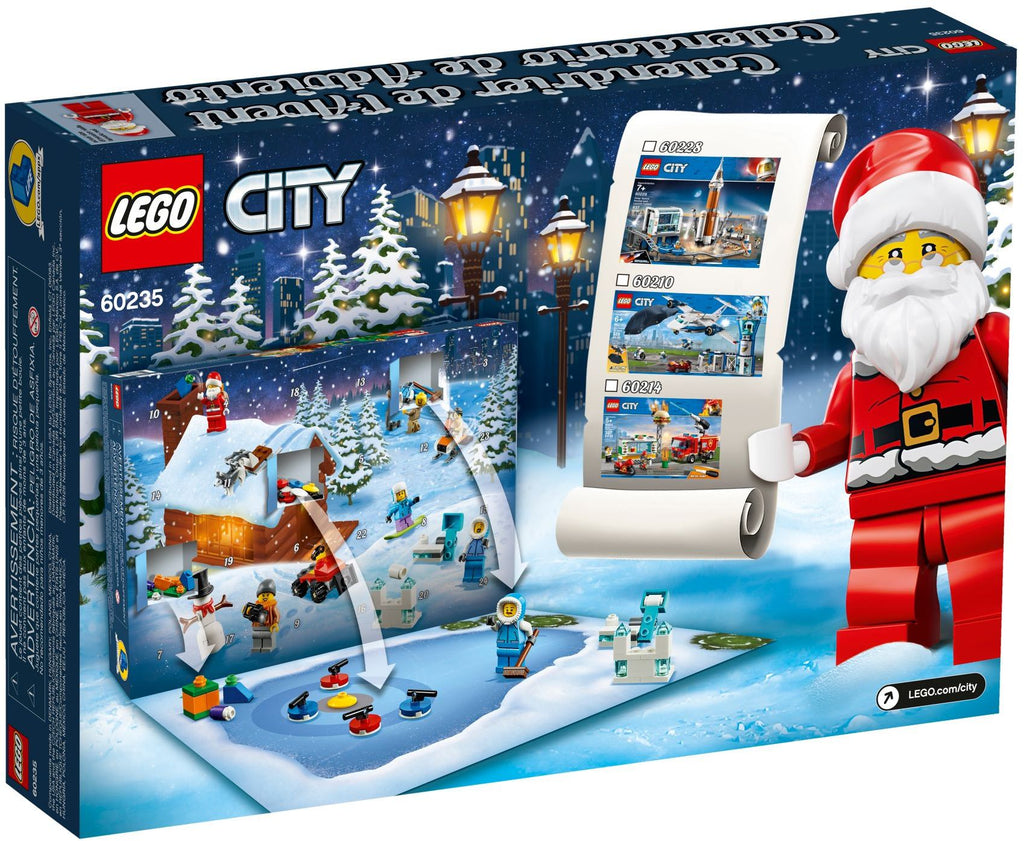 LEGO 60235 City Advent Calendar