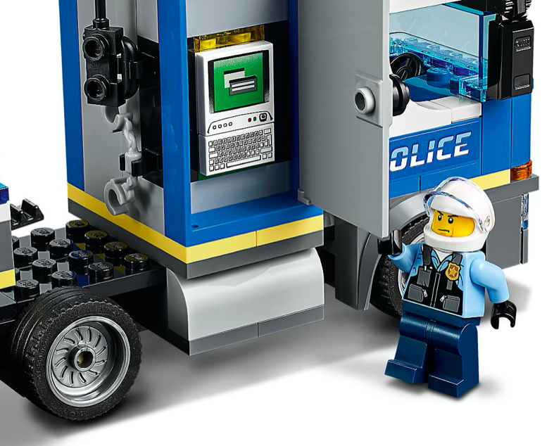 LEGO 60244 Police Helicopter Transport