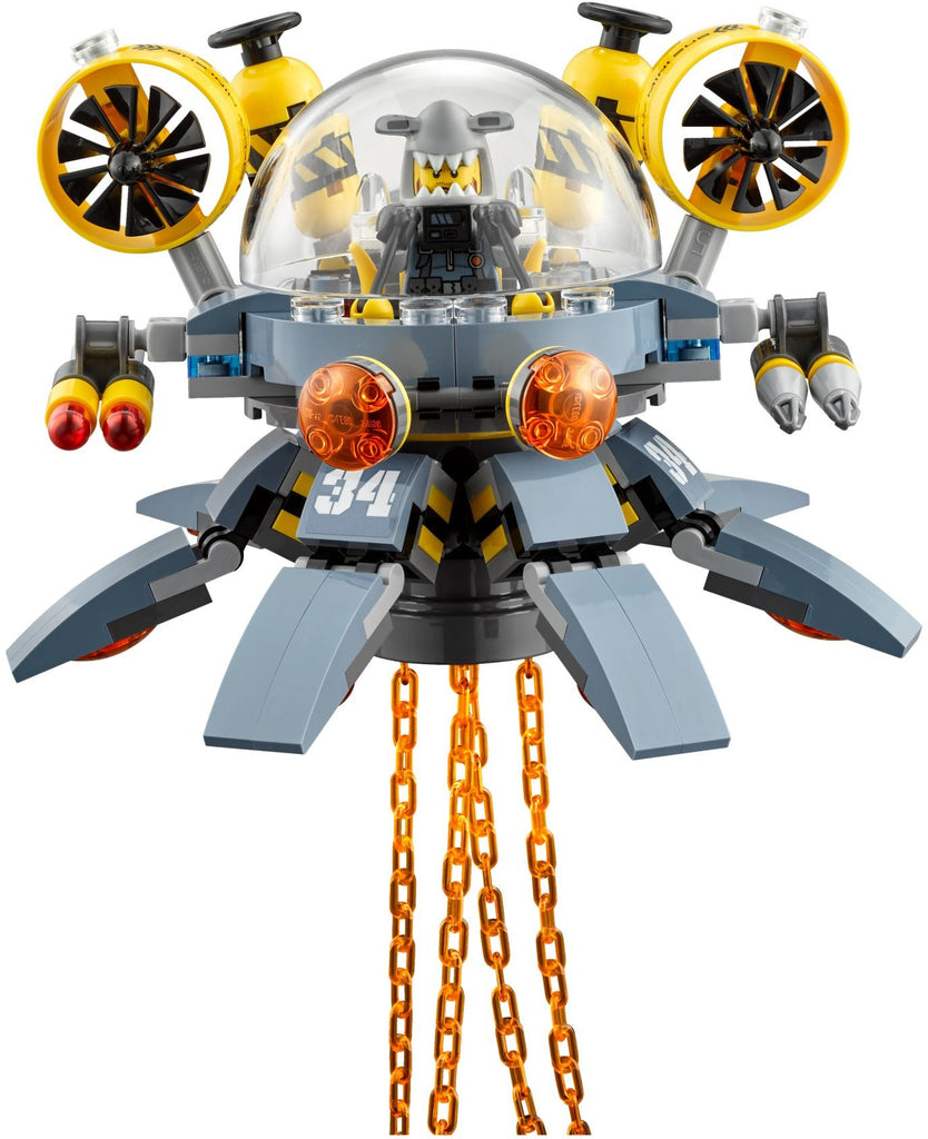 LEGO 70610 Flying Jelly Sub
