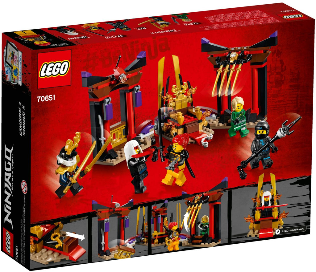 LEGO 70651 Throne Room Showdown