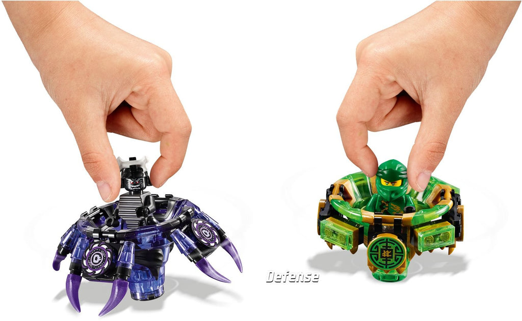 LEGO 70664 Spinjitzu Lloyd vs. Garmadon