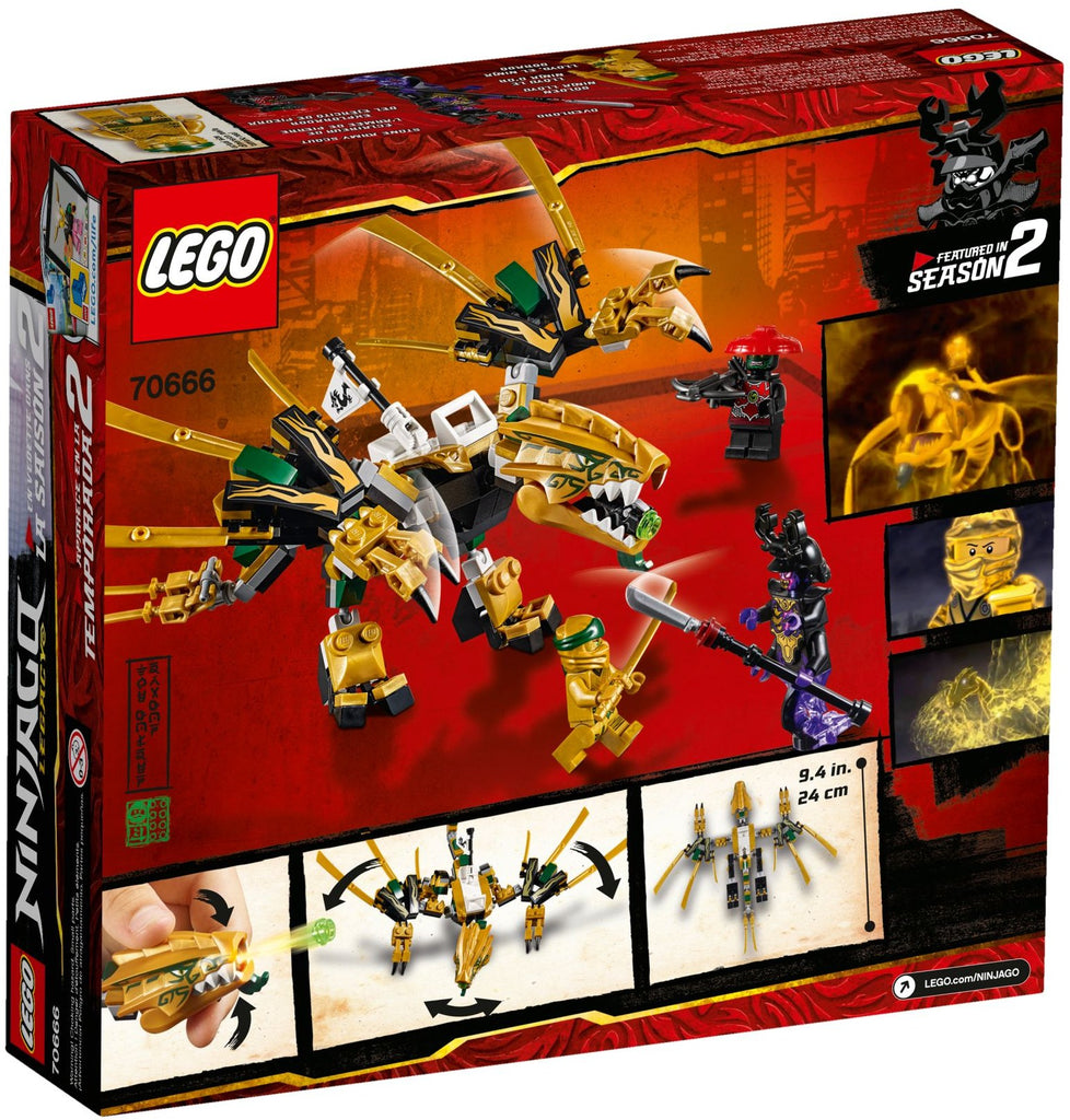 LEGO 70666 The Golden Dragon