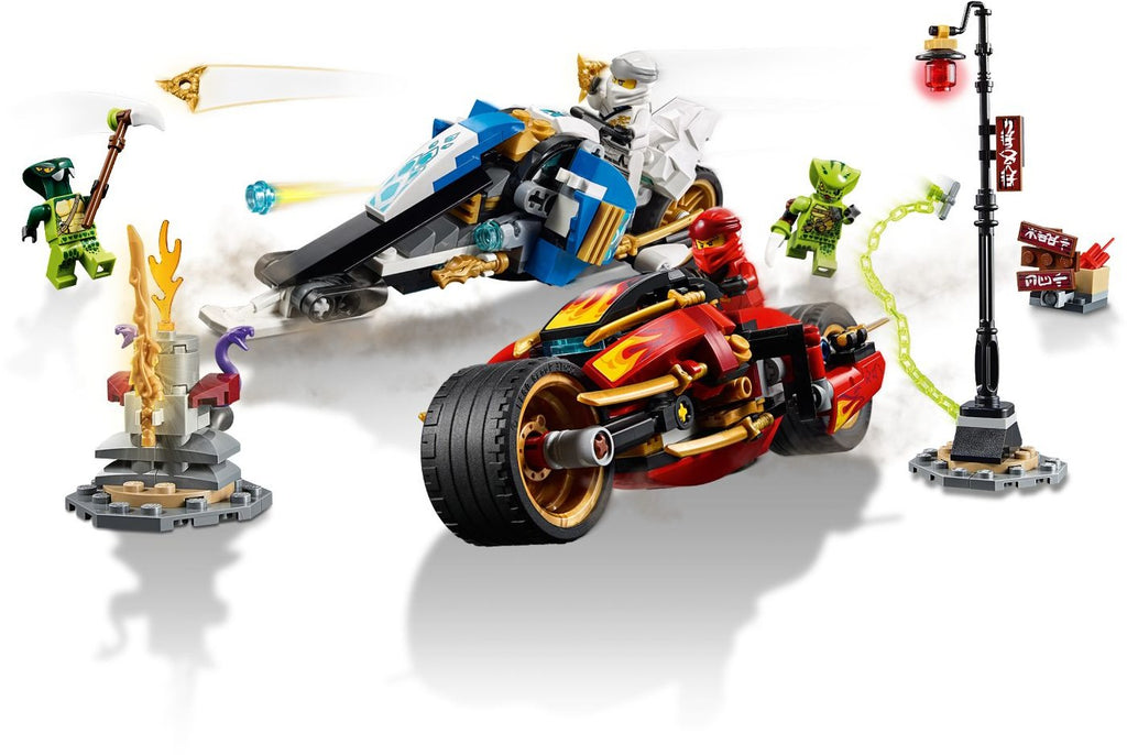 LEGO 70667 Kai's Blade Cycle & Zane's Snowmobile